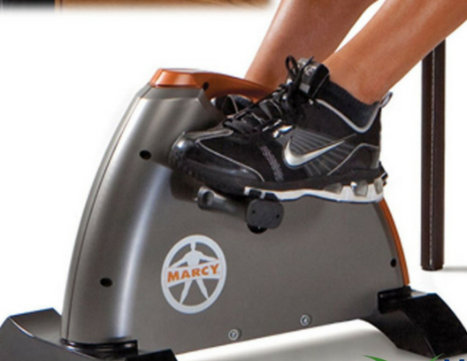 Pedal exerciser close up