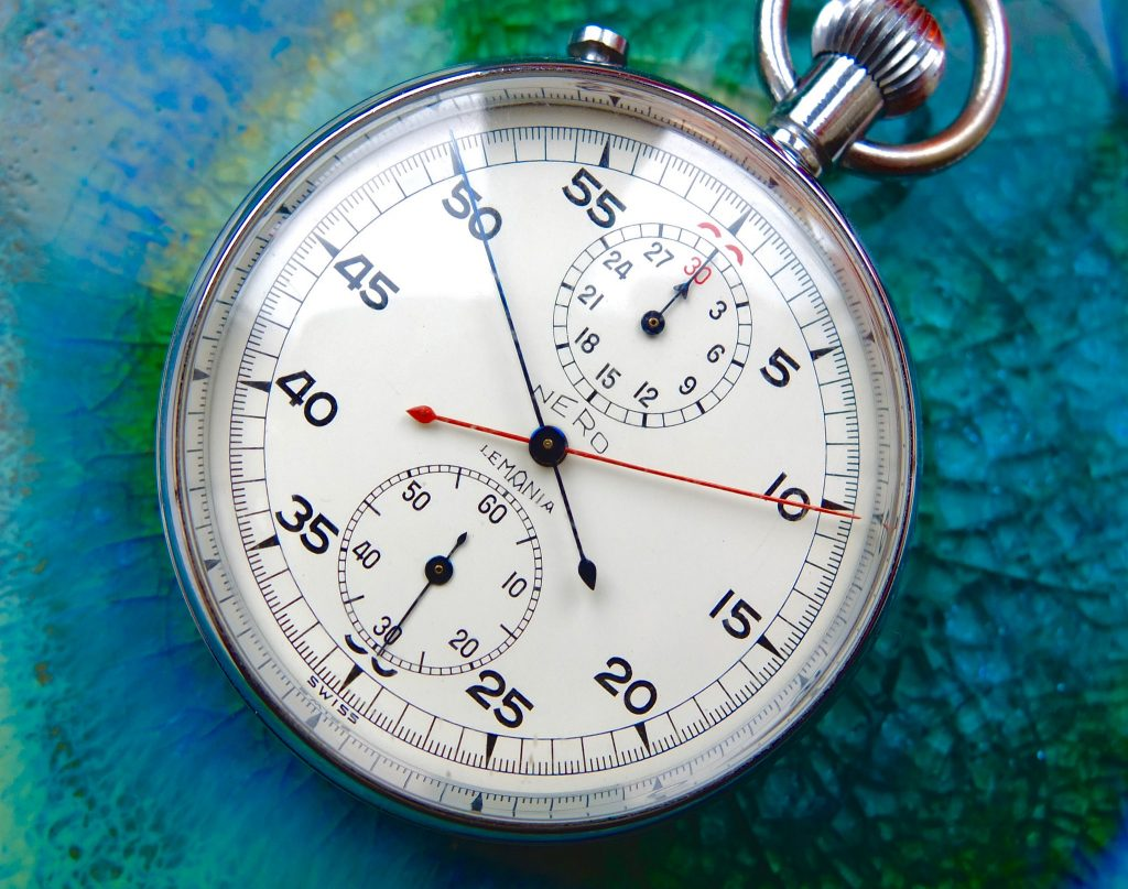 Mechanical stopwatch