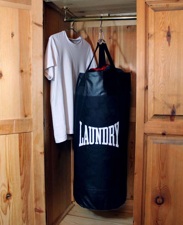 Punching Laundry Bag